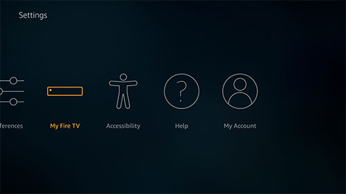 Fire TV system